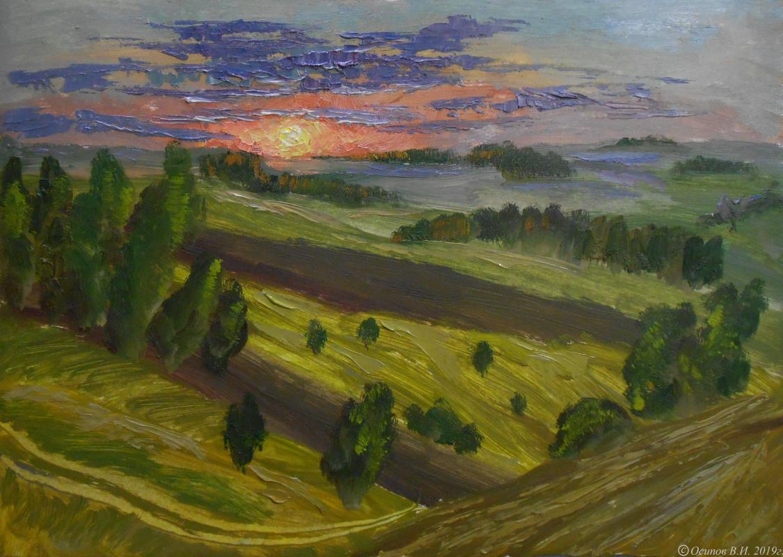 Владимир Иванович Осипов. Catch up with the sun