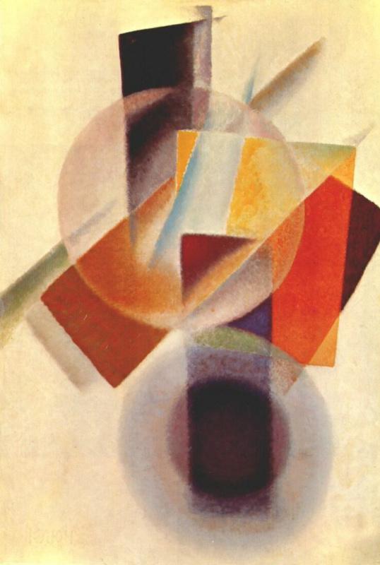 Ivan Vasilyevich Klyun. Spherical objects