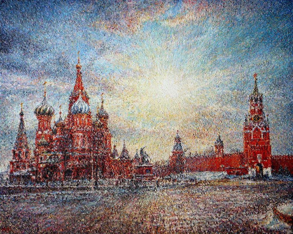 Alexey Leonidovich Yakimov. Зимнее солнце