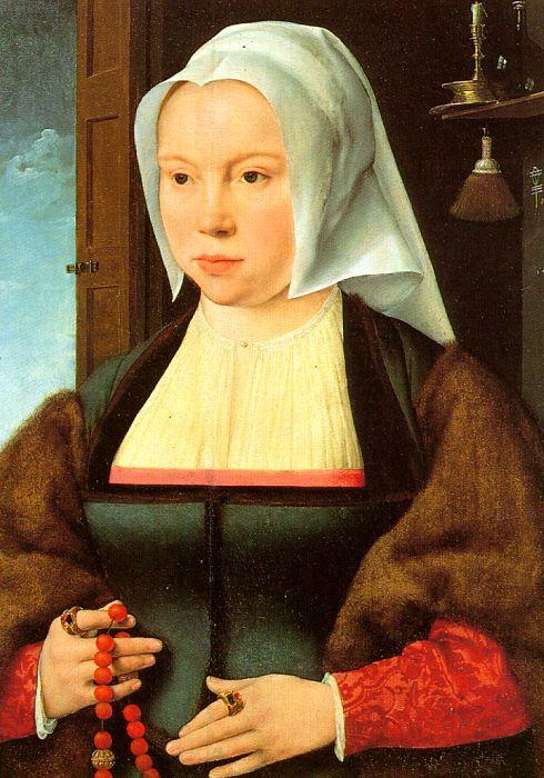 Йос ван Клеве. Портрет женщины