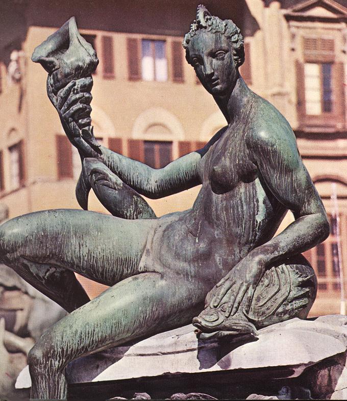Бартоломео Амманати. Фонтан Нептуна