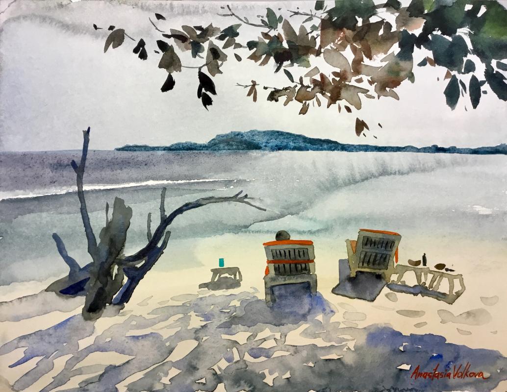Anastasia Volkova. Islands in the ocean