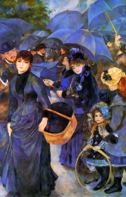 Pierre-Auguste Renoir. The umbrellas
