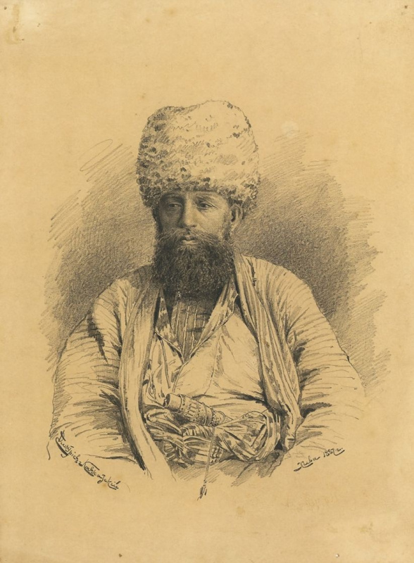 Лев Евграфович Дмитриев-Кавказский. Портрет хивинского министра