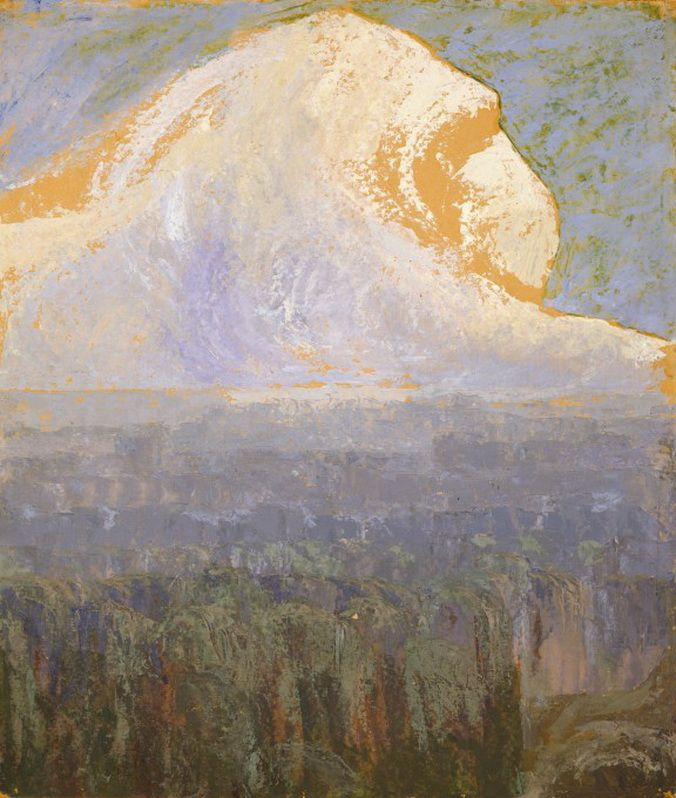 Mikalojus Konstantinas Ciurlionis. Mountain