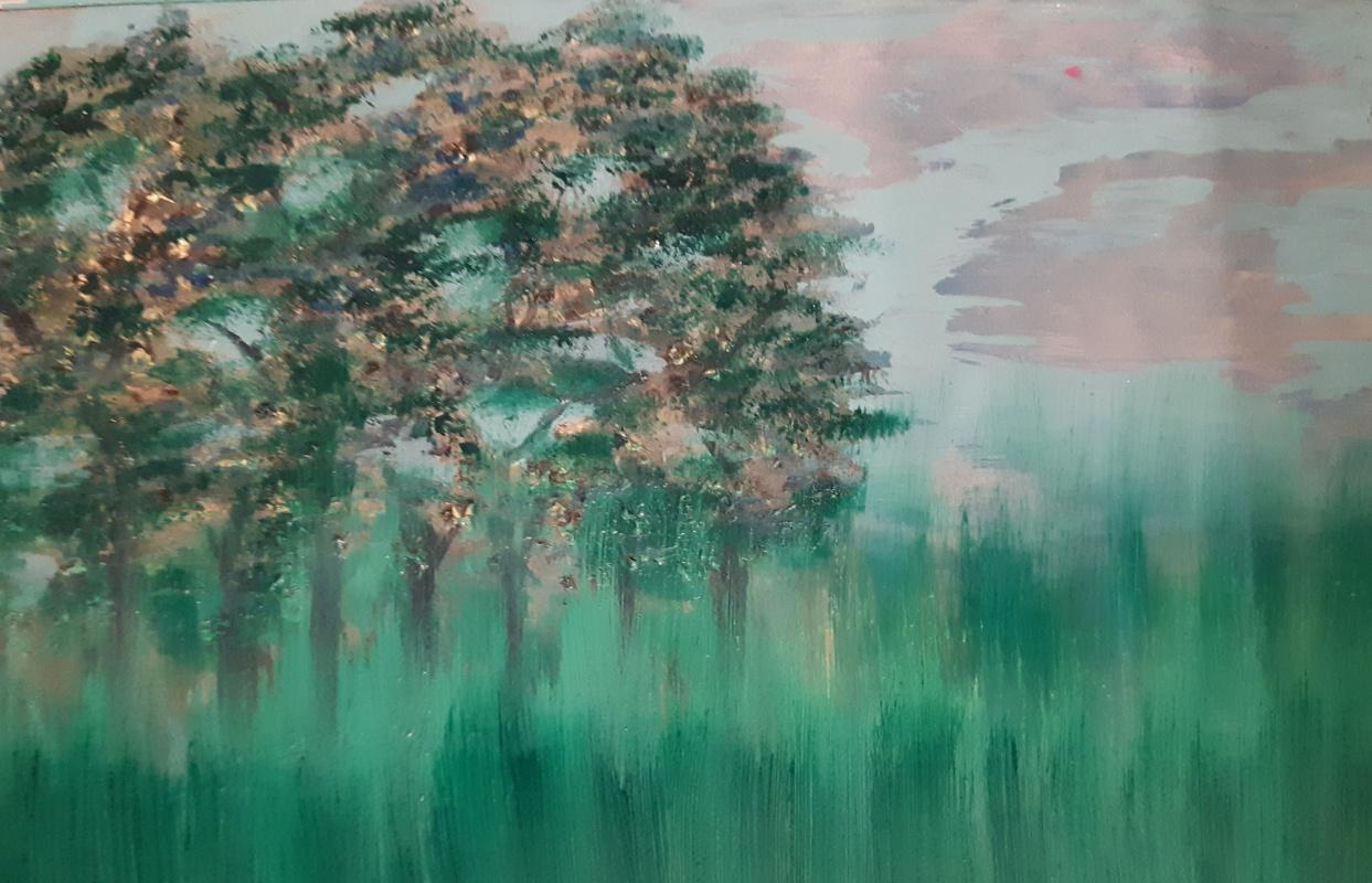 Asya Alibala gizi Hajizadeh. Деревья