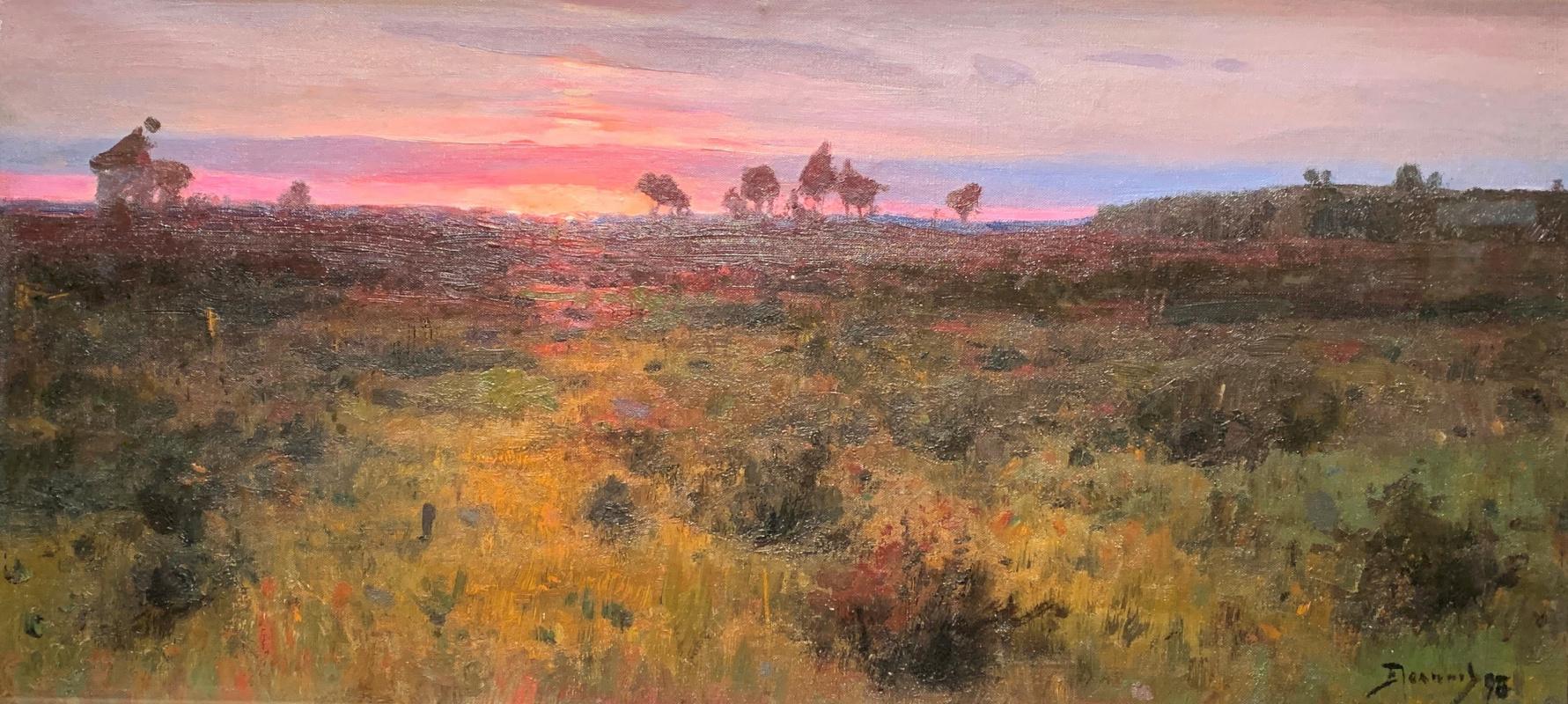 Vasily Polenov. Sunset