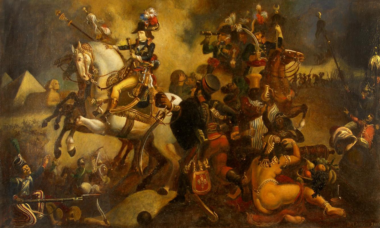 Daniil Litvinov. Наполеон в египте