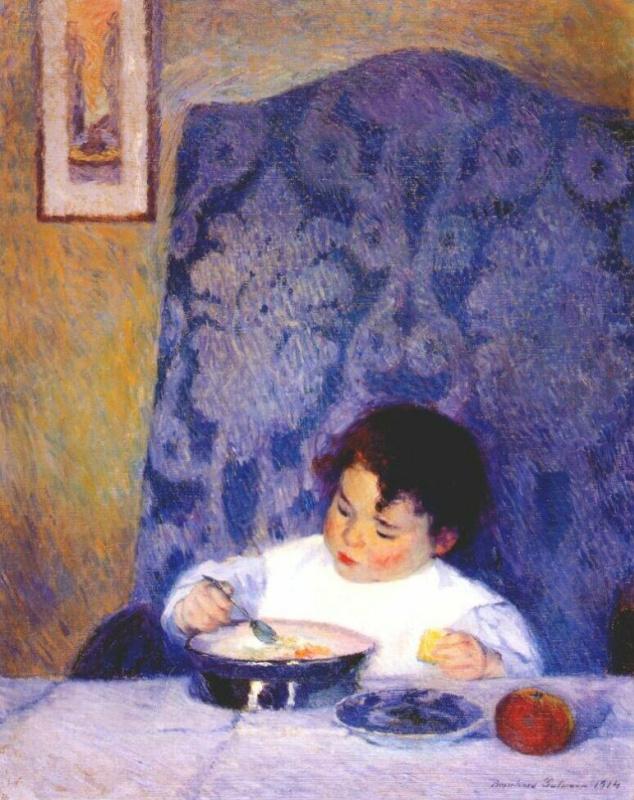 Бернард Гутман. Малышка Элизабет