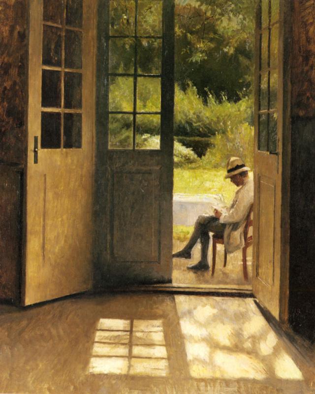 Петр Вильгельм Илстед. Открытая дверь