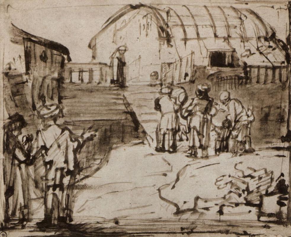 Рембрандт Харменс ван Рейн. Ноев ковчег
