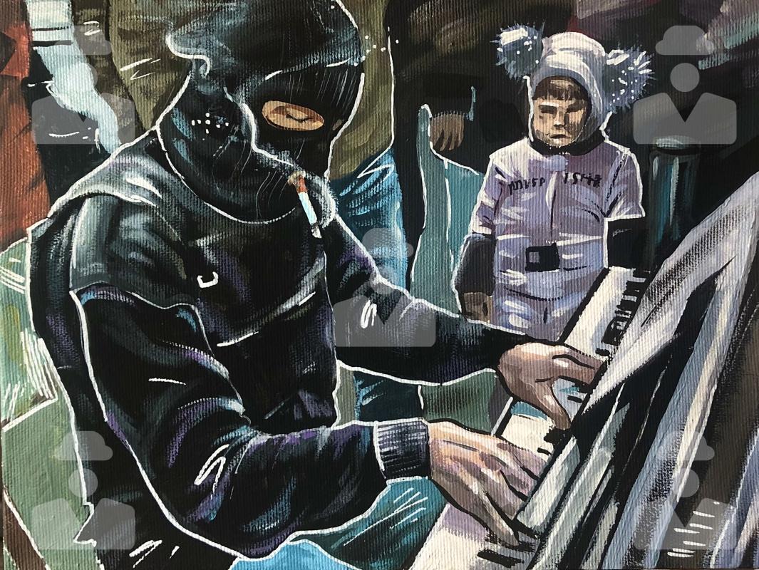 Стонт. Пианист
