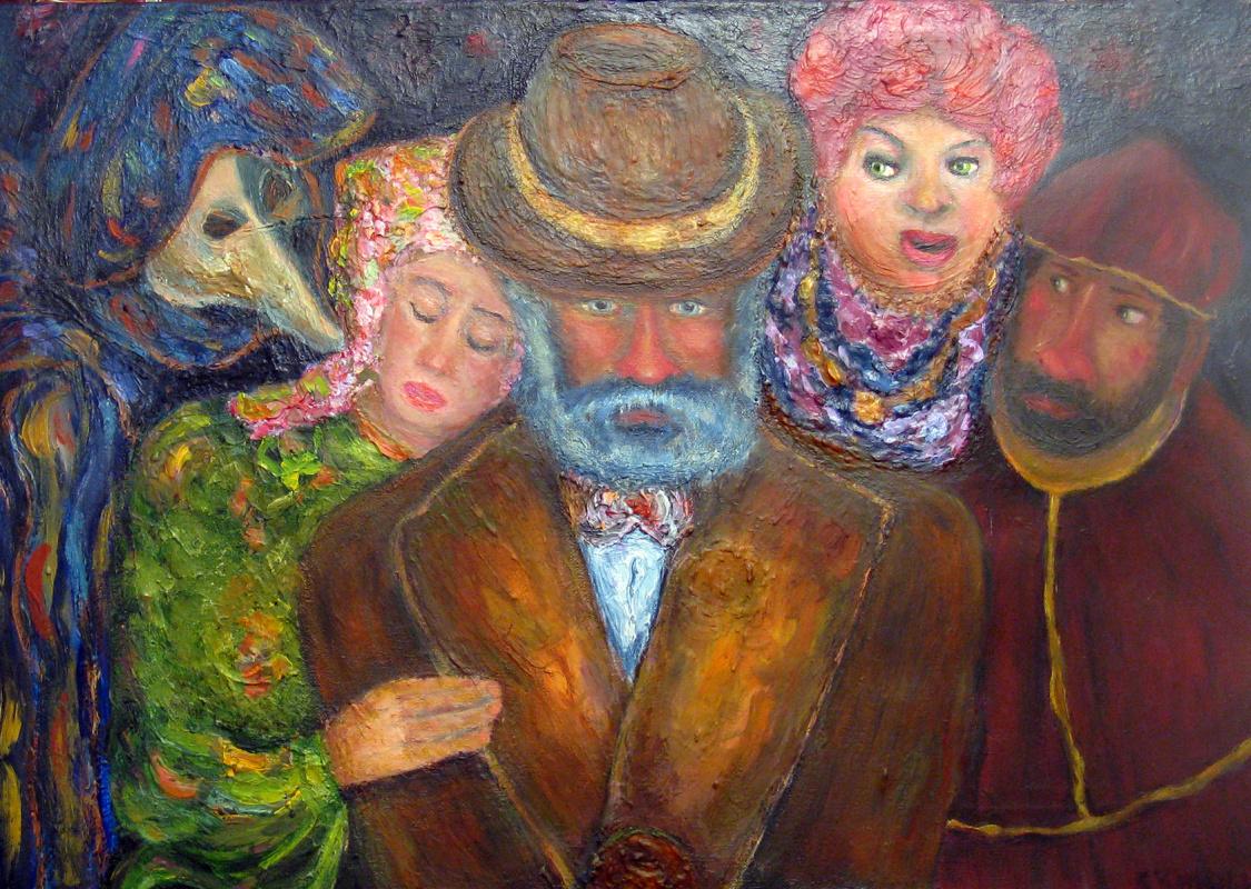 Sergey Ziegfridovich Yampolskiy. Unequal marriage