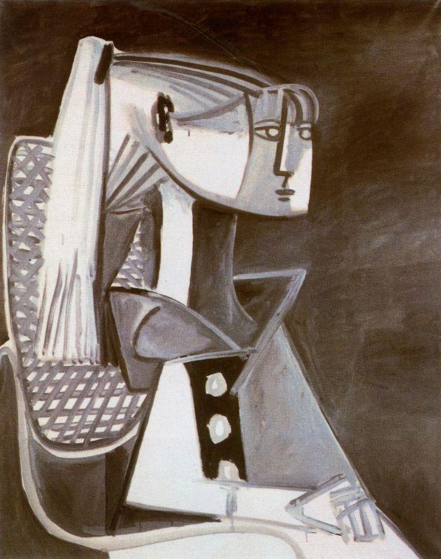 Пабло Пикассо. Портрет Сильветт Давид 3