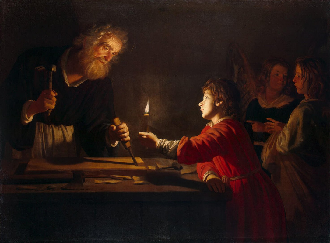 Геррит ван Хонтхорст. Детство Христа
