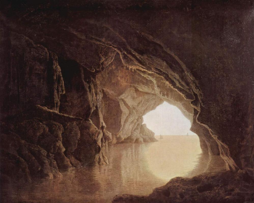 Джозеф Урит. Пещера вечером
