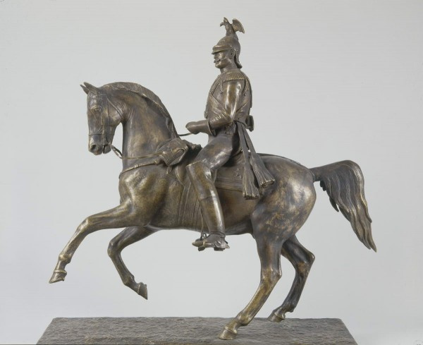 Peter Karlovich Klodt von Jurgensburg. The original model of the equestrian statue for the monument to Nicholas I in St. Petersburg