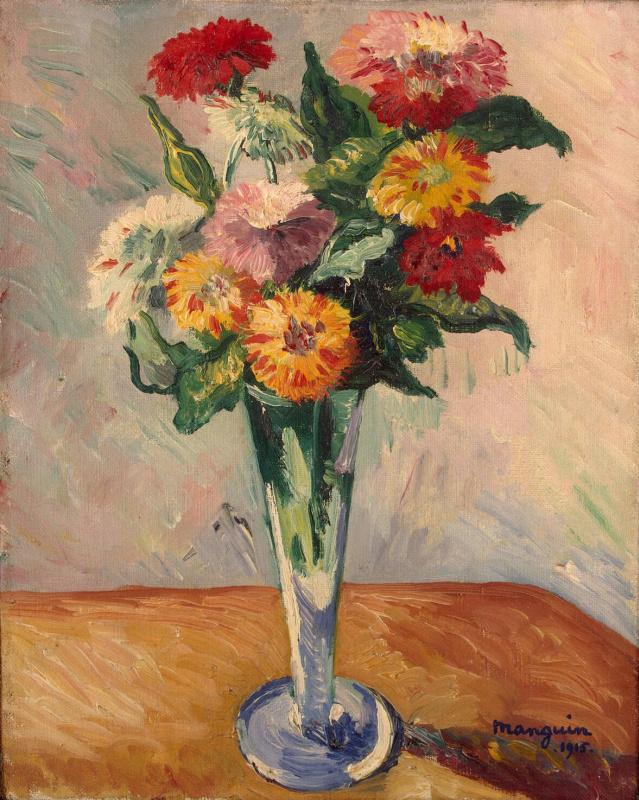 Henri Manguin. Flowers