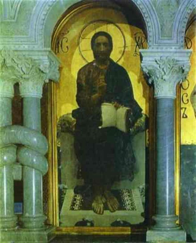 Mikhail Vrubel. Christ