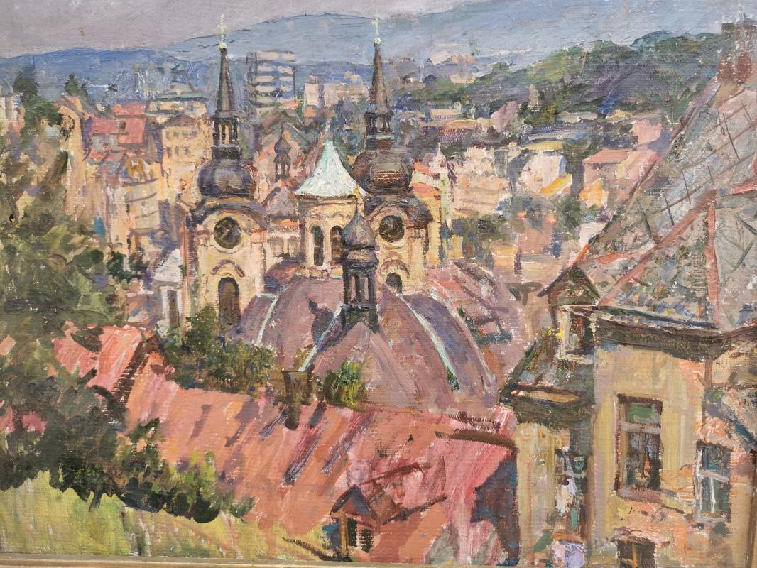 Pavel Mikhailovich Yashin. Karlovy Vary