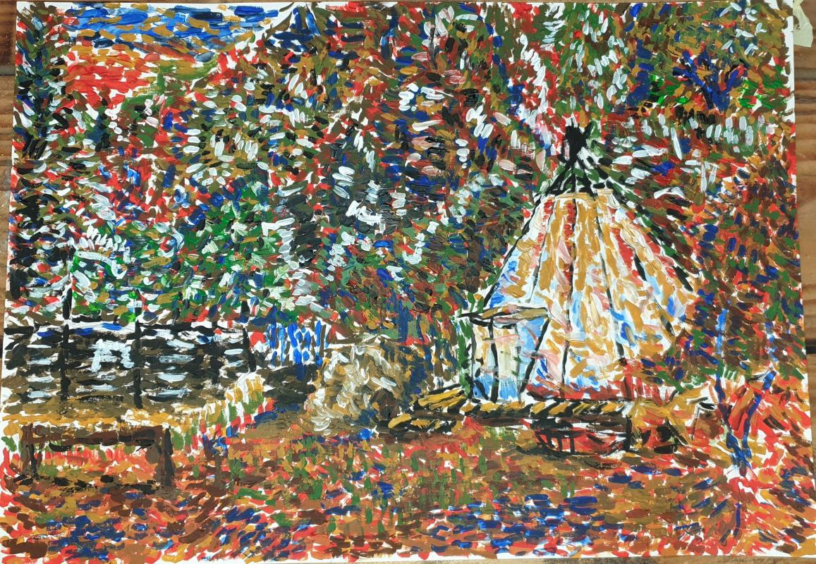 Ruslan Shakirov. Landscape with a plague