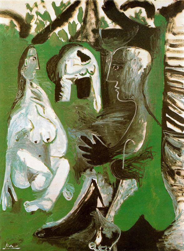 Пабло Пикассо. Искушения
