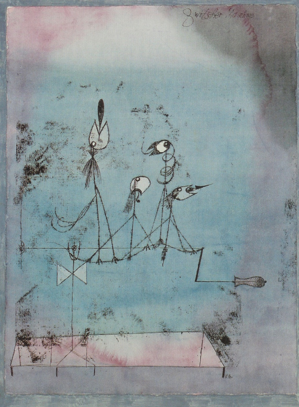 Paul Klee. Tweeting machine