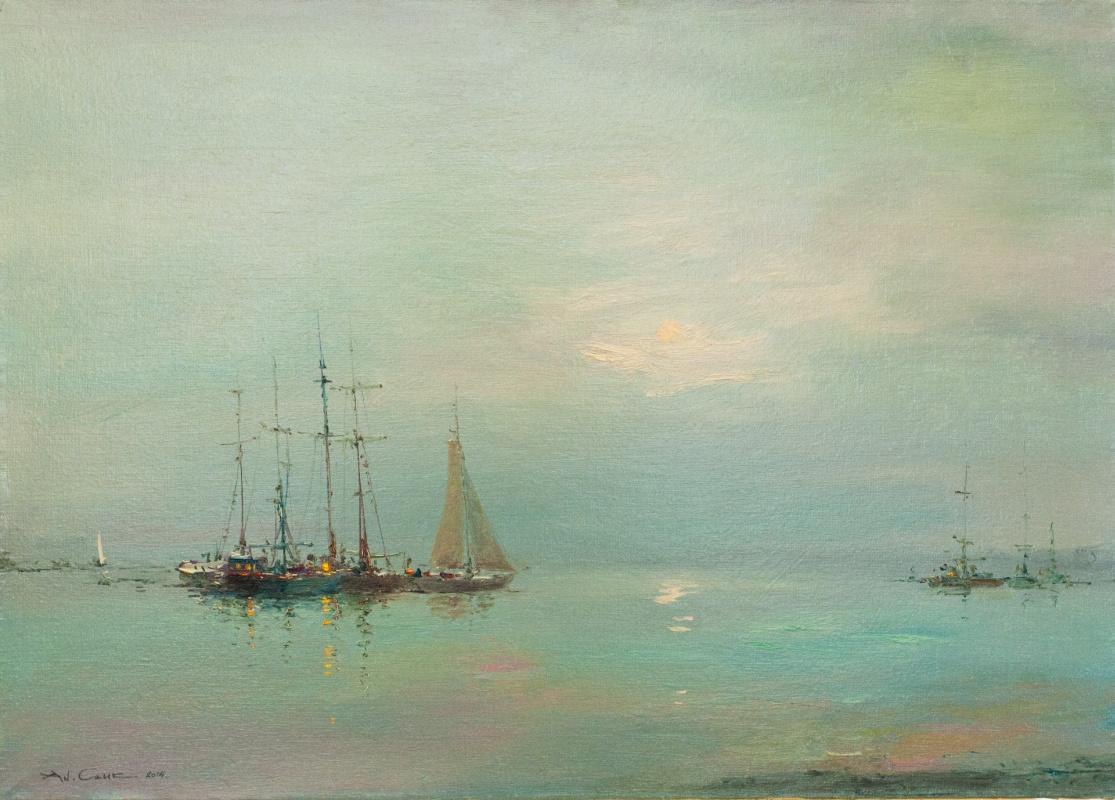 Andrew Hooke. Warm evening