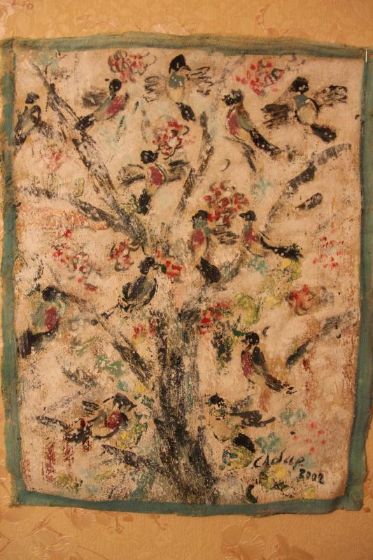 Сабир Султанов. Птички