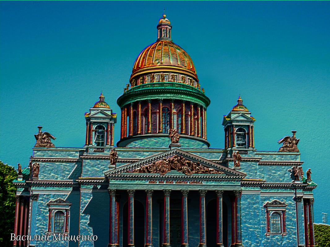 Vasiliy Mishchenko. Isaac's Cathedral 002