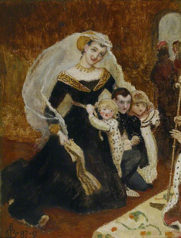 Ford Madox Brown. Lady rivers and her children