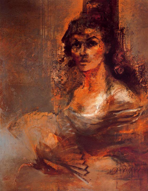 Джулия Идальго. Дама с веером
