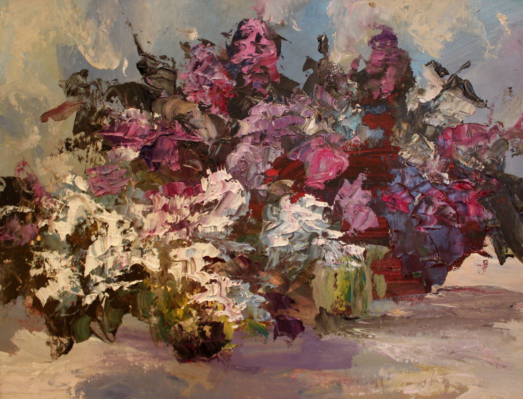 Love Sergeyevna Nikulina. Lilac