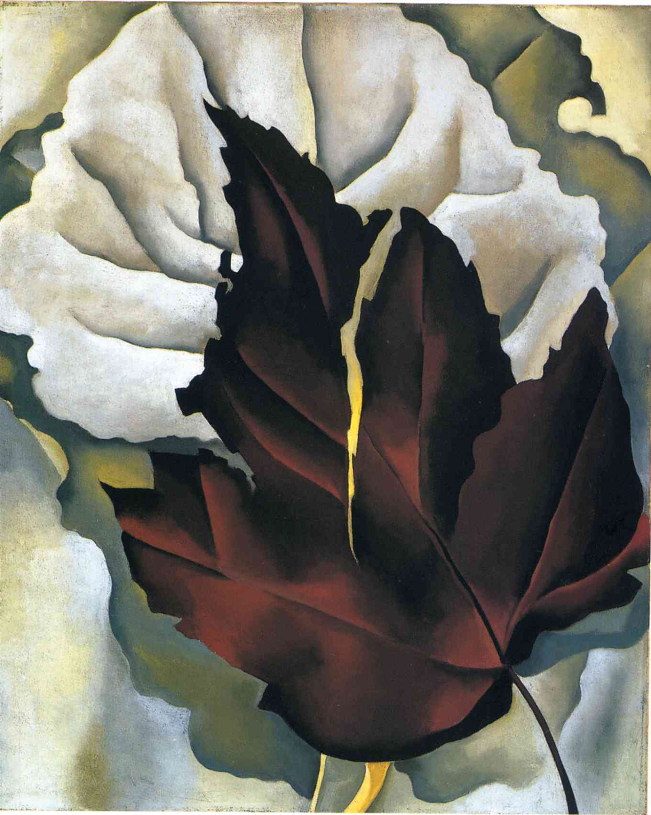 Джорджия О'Киф. Узоры листьев