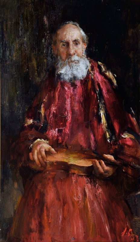 Николай Дмитриевич Блохин. Страдивари