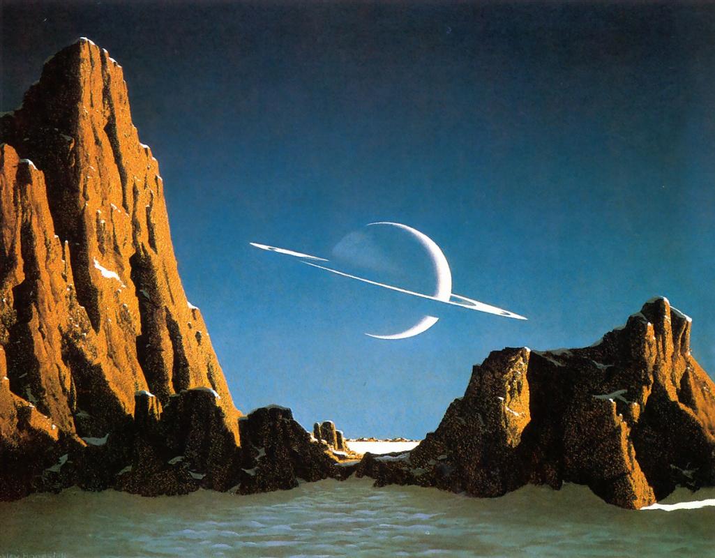 Chesley Bonestell. Saturn