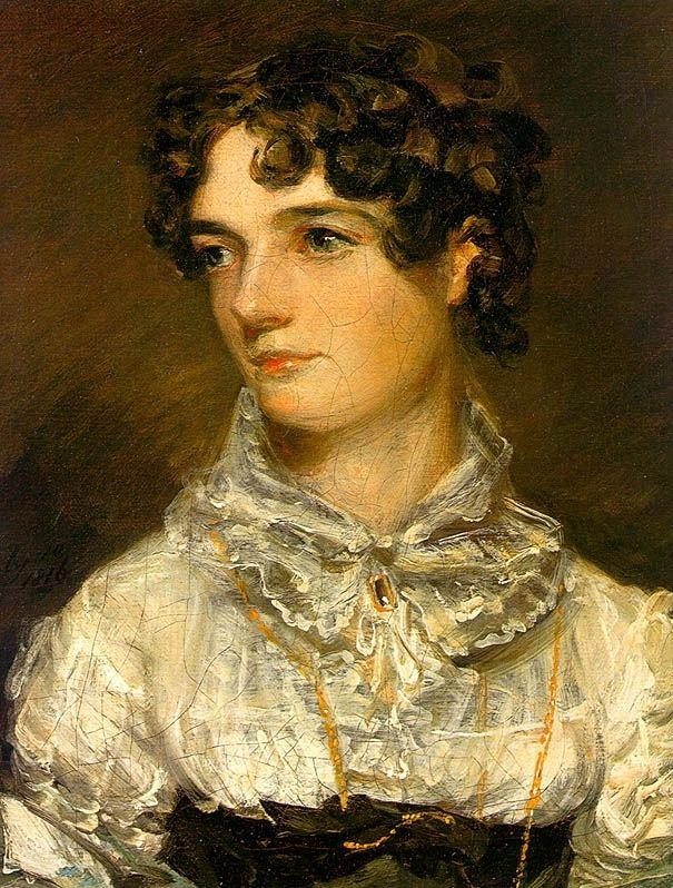 John Constable. Portrait of Maria Bicknell, Mrs John constable