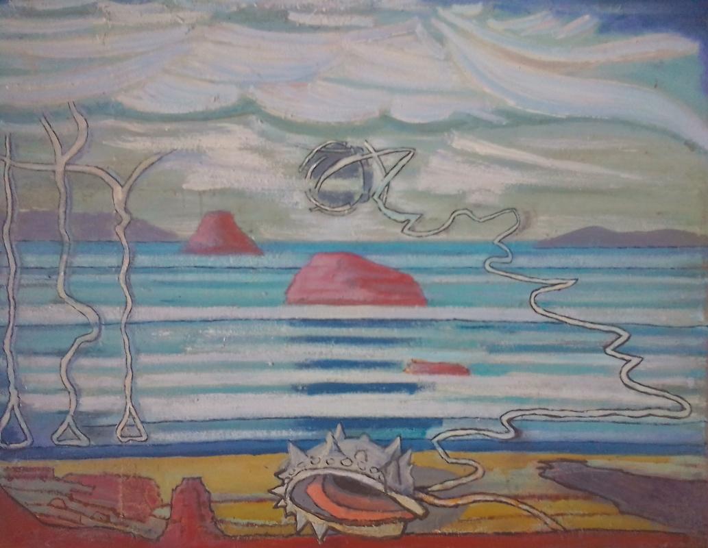 Вячеслав Коренев. Облака над морем