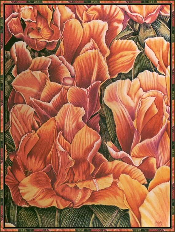 Christie Cach. Tulips