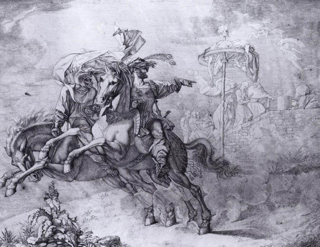 Peter von Cornelius. Riders