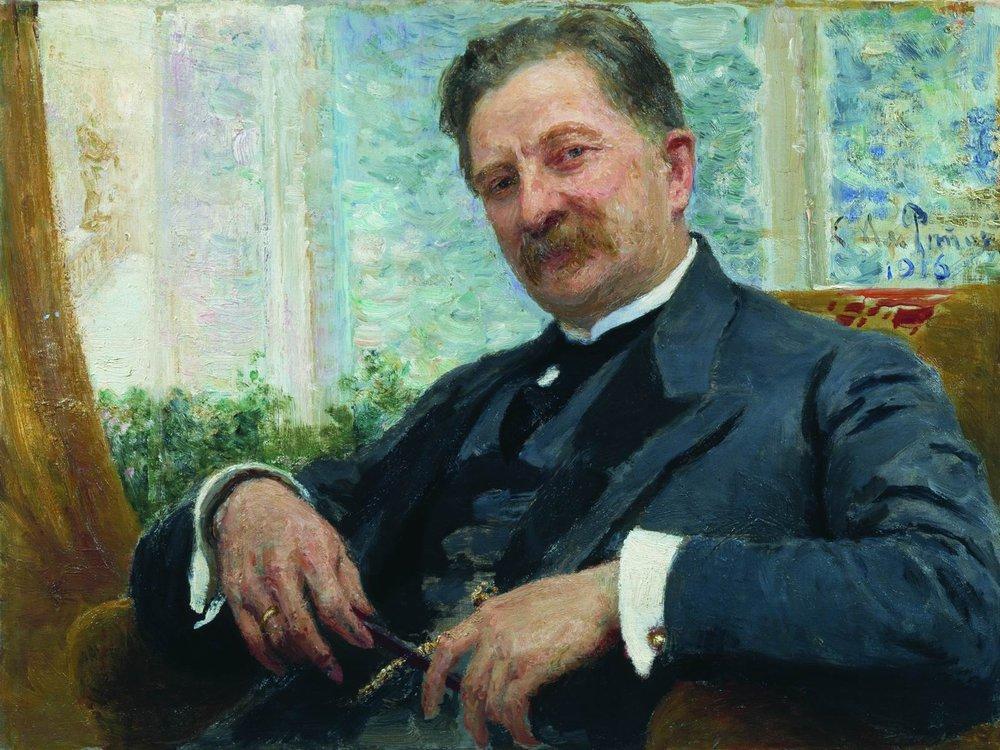 Илья Ефимович Репин. Портрет Венгерова
