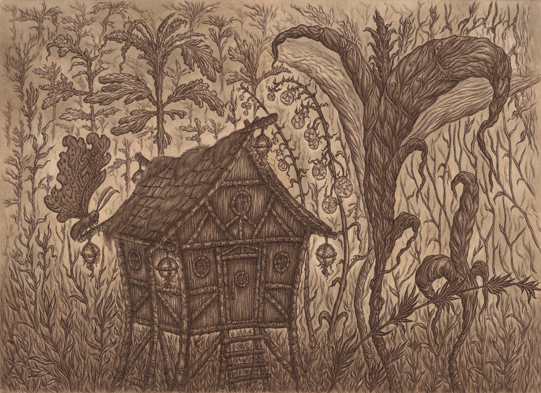 Vladimir Vladimirovich Khablovsky. House in the thicket