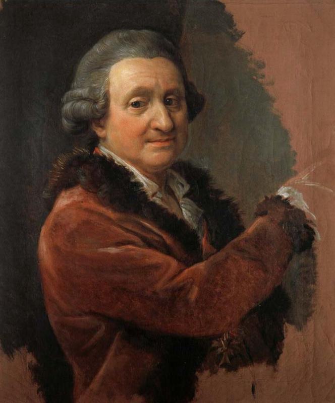 Pompeo Girolamo Batoni. Self-portrait