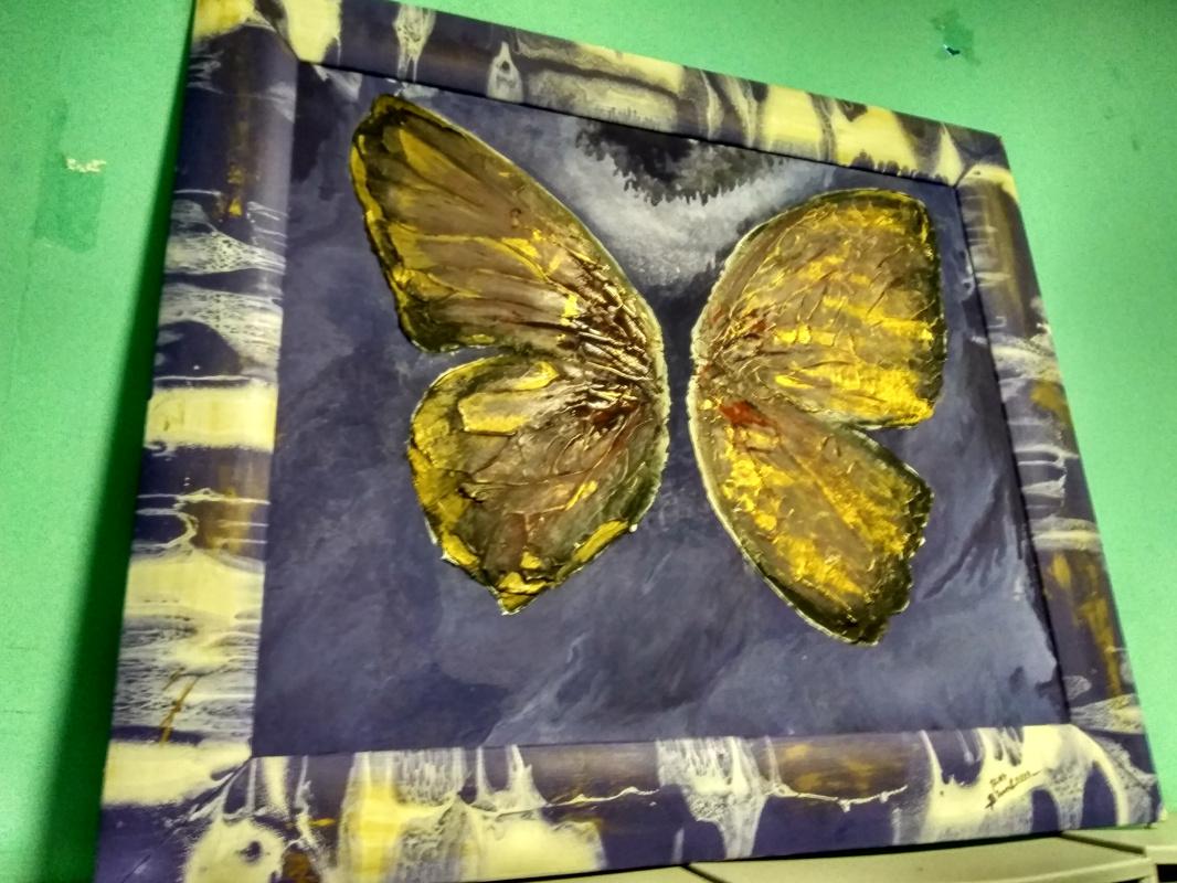Vasya Chistov. Butterfly