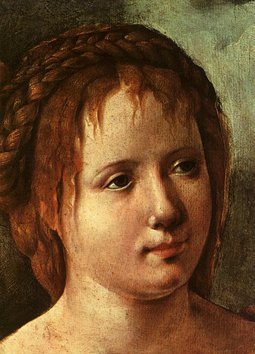 Скорел. Портрет ребенка