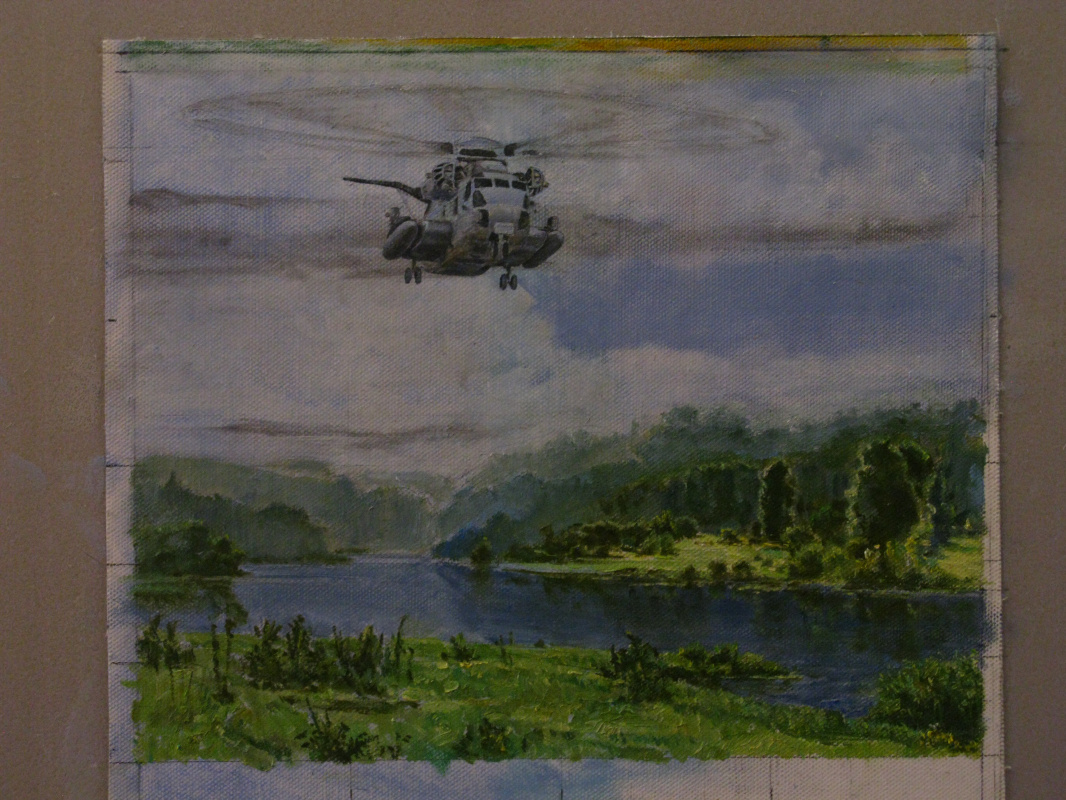 Vitaly Sergeevich Ternavsky. Helicopter