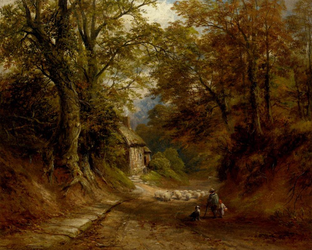 George Turner. Old cottage lane Littleover