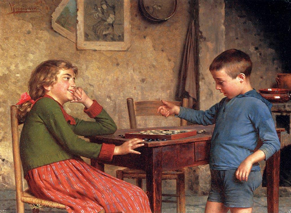 Витторио Реджианини. Игры детей