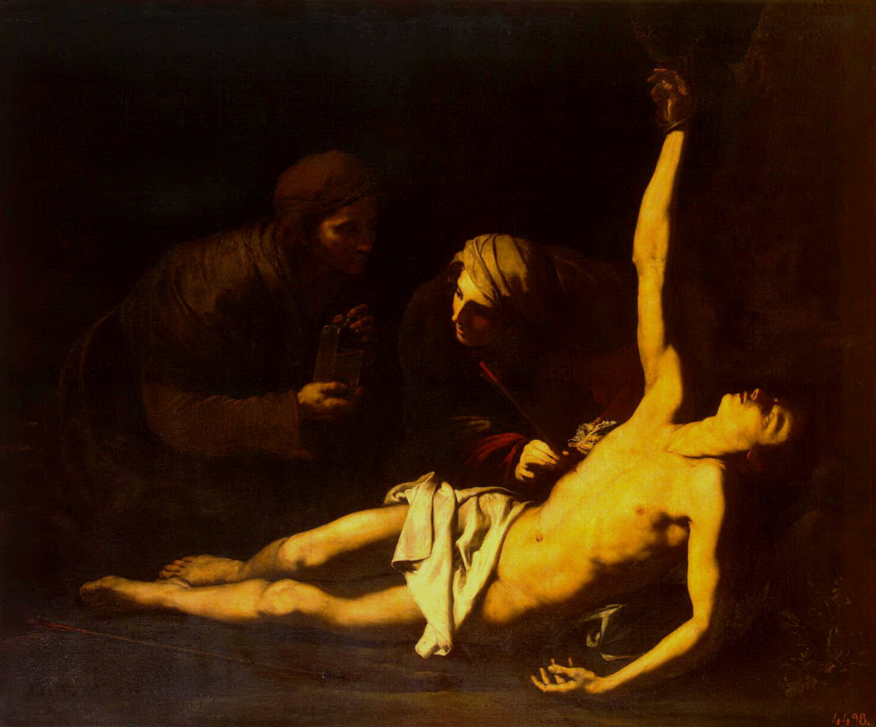 Хосе де Рибера. Святой Себастьян и Святая Ирина