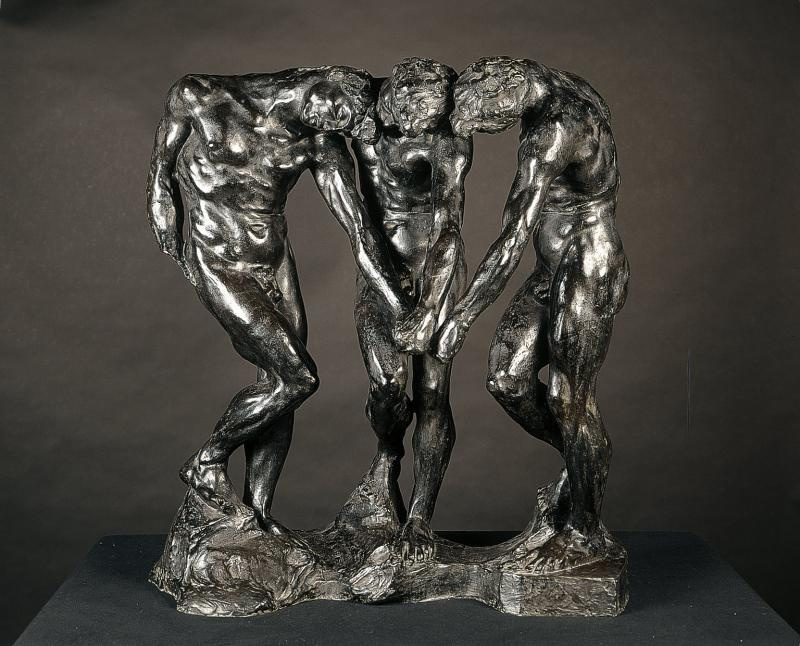 Auguste Rodin. Three shadows